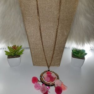 Trendy long necklace